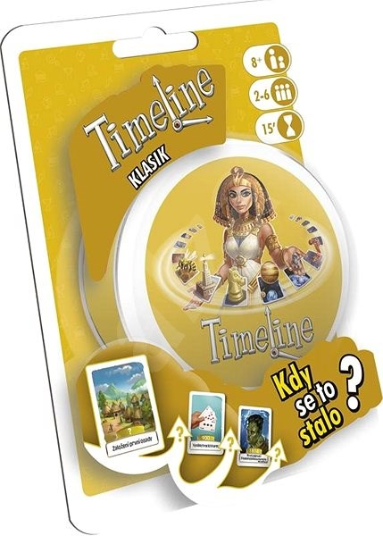 TimeLine - Classic - Card Game