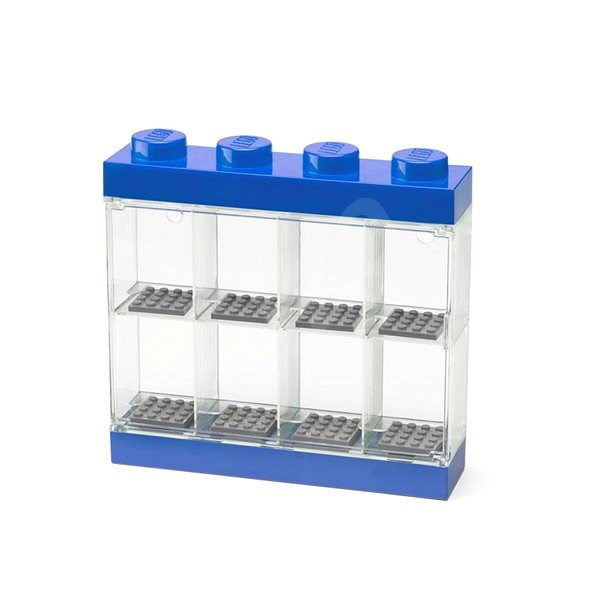 LEGO Collector's Box for 8 Minifigures - Blue - Storage Box