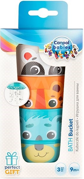 Canpol Babies Bucket Set assorted colours - Water Toy