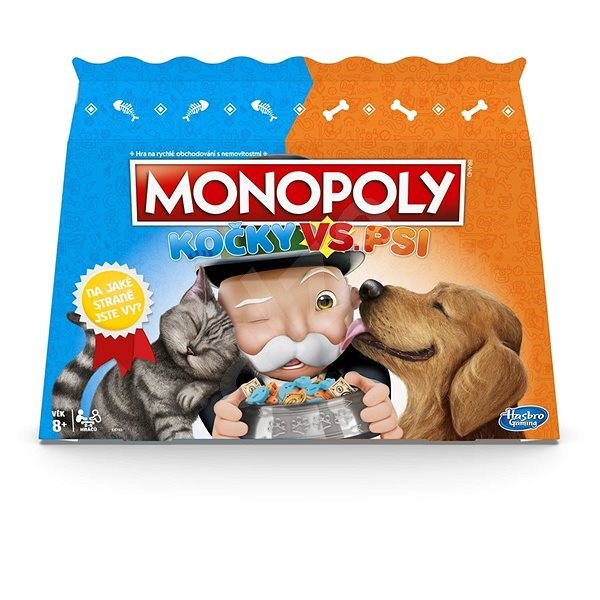 Monopoly Cats vs Dogs - Board Game