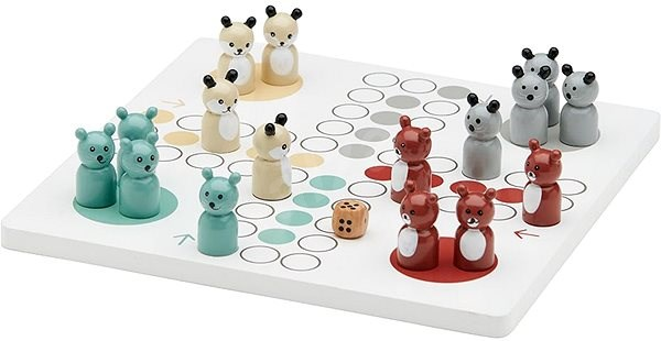 Wooden Edvin Don T Be Mad Board Game Alzashop Com