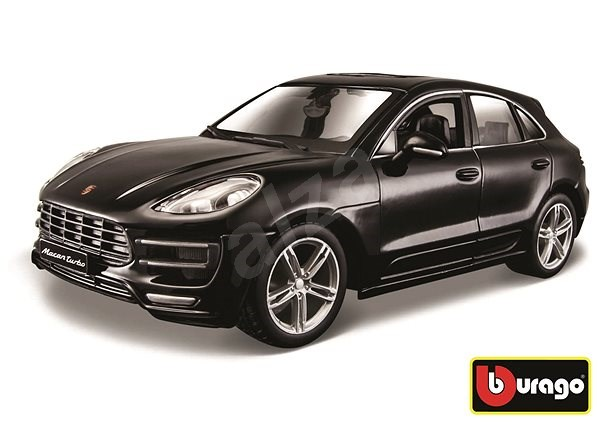 Bburago Porsche Macan Black - Model