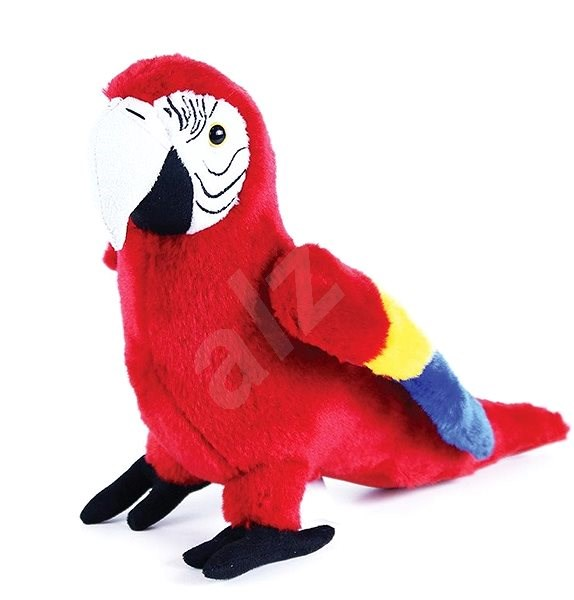 Rappa Eco-friendly parrot Ara Arakanga, 24 cm - Plush Toy