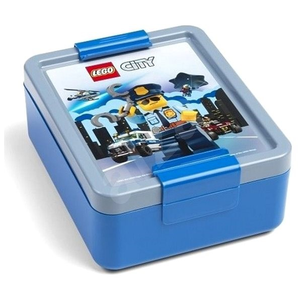 LEGO City snack box - blue - Snack Box