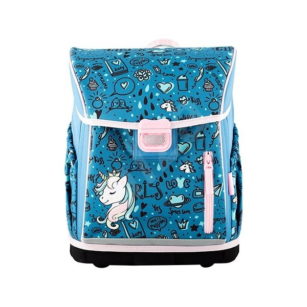 Hama School briefcase for first-graders Unicorn - Briefcase