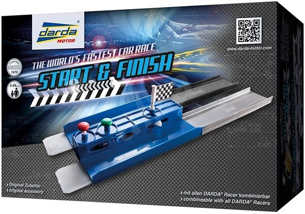 Start and finish panel - Slot Cart Track Accessory