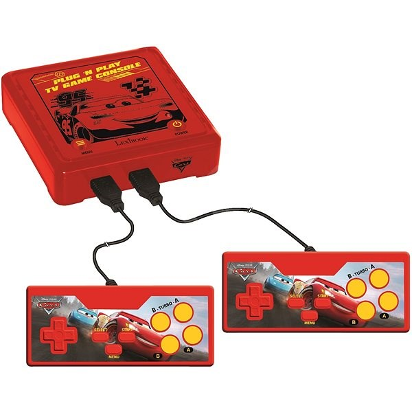 Lexibook Cars Console for TV - 300 games - Game Set