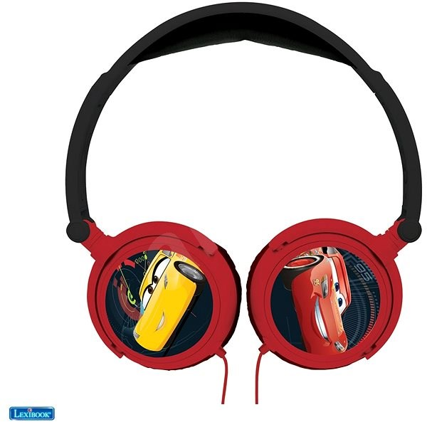 Lexibook Cars Headphones with Safe Volume for Children - Headphones