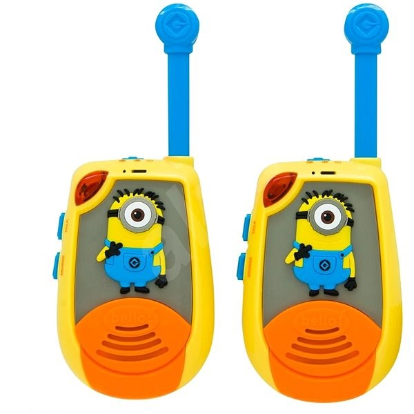 Lexibook Minions Digital radios - 2km with Morse code function - Walkie-talkies