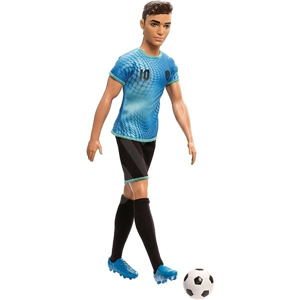 Barbie Ken occupation - football player o / s - Doll