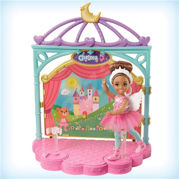 Barbie chelsea ballerina game set - Doll