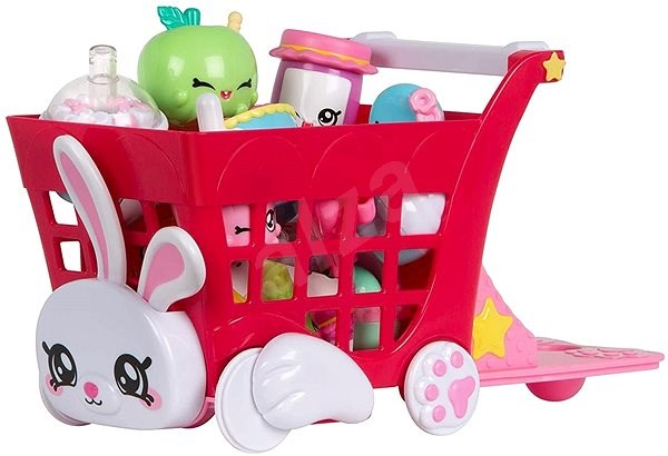Kindy Kids shopping cart with accessories - Doll Accessory