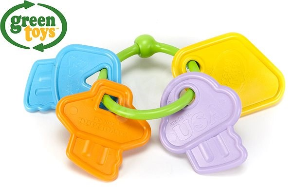 Green Toys Bite - Baby Rattle