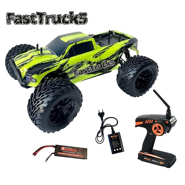 FastTruck 5 Brushless Monster Truck RTR - RC Remote Control Car