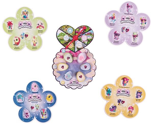 Hatchimals Game for the Youngest - Board game