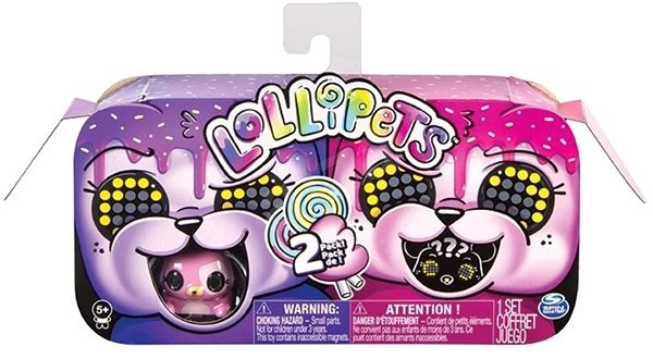 Zoomer Animals with Lollipop Pack - Purple-pink - Interactive Toy