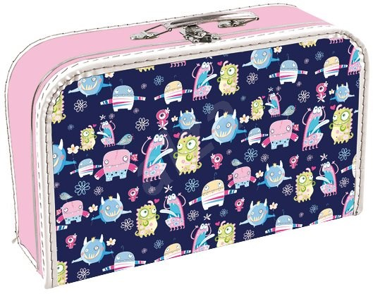 Stil Suitcase Happy monsters - Small Carrying Case