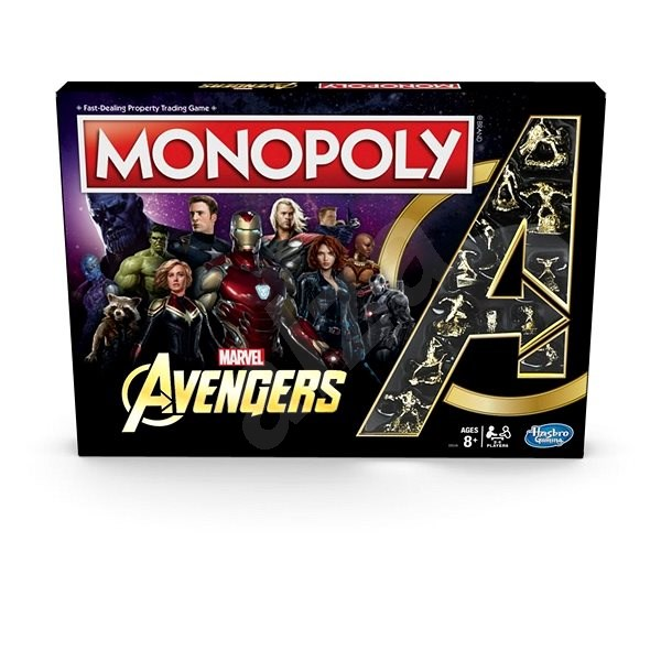Monopoly Avengers CZ - Board Game