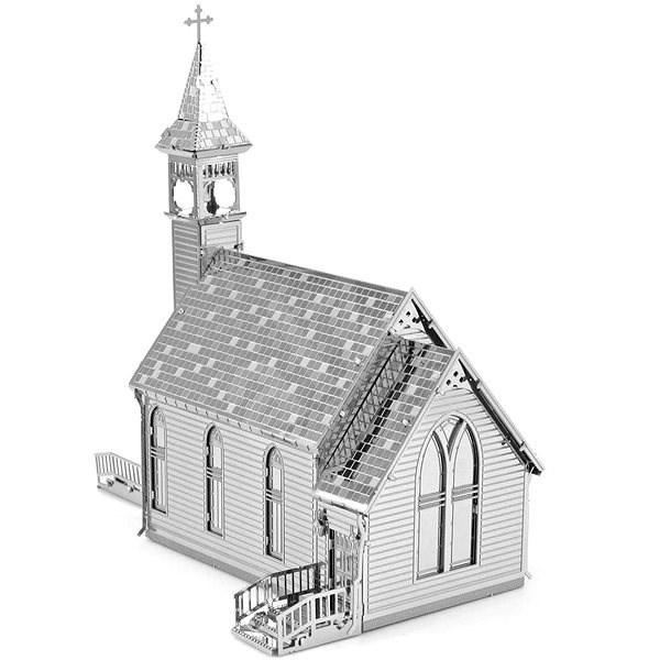 Metal Earth 3D puzzle Old church - 3D puzzle