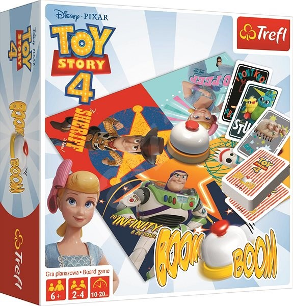 Trefl Game Boom boom Toy Story 4: Toy Story - Board Game