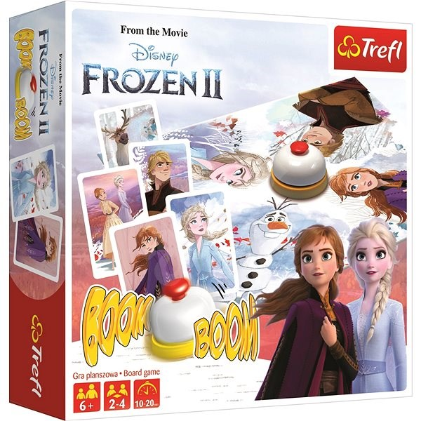Hit the game Boom Boom Ice Kingdom 2 - Board Game