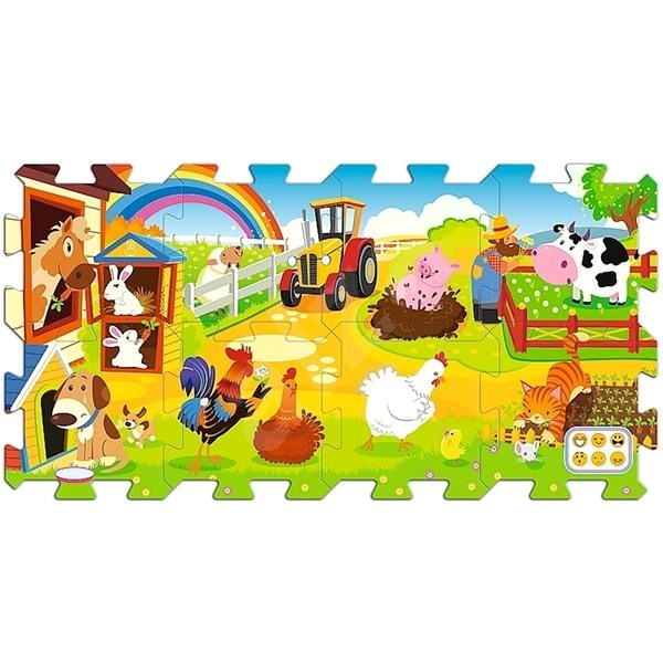 Hit the Foam Puzzle Farm - Foam Puzzle