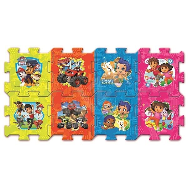 Hit the Foam Puzzle of the Nickelodeon Fairy Tale with the Paw Patrol - Foam Puzzle