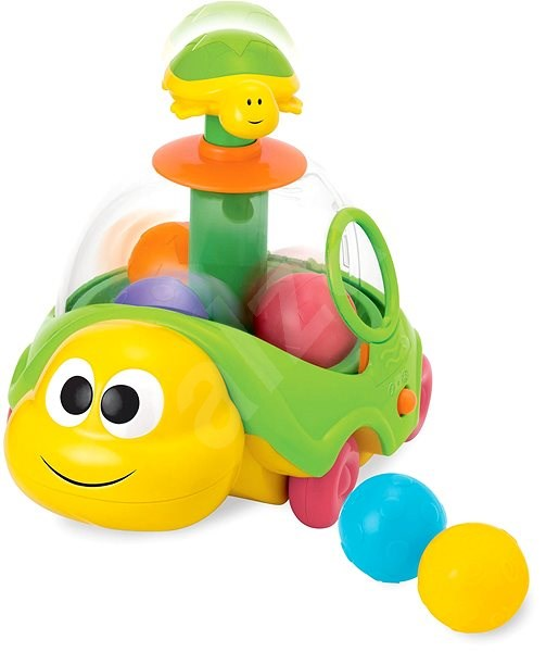 Turtle with Balls - Educational toy
