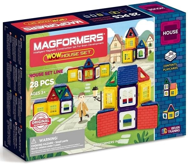 Magformers Wow House - Magnetic Building Set
