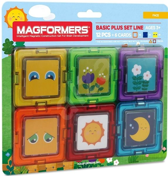Magformers Cards Pictures - Magnetic Building Set