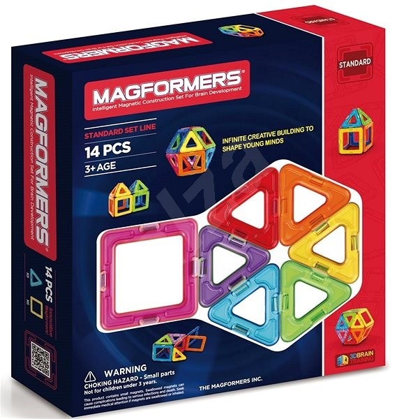 Magformers Magformers 14 - Magnetic Building Set