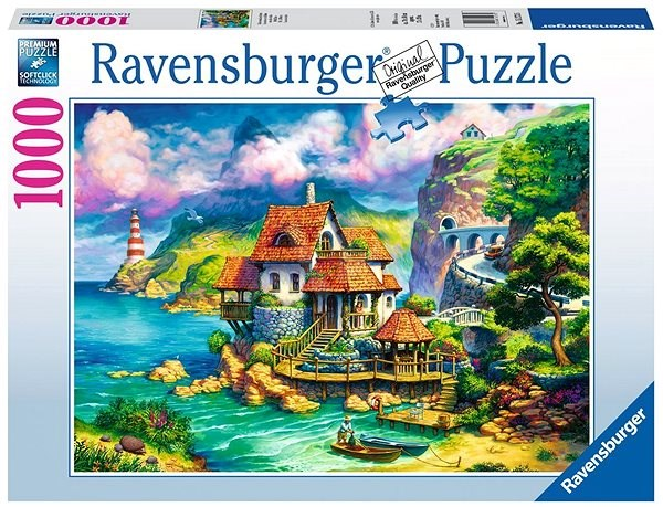 Ravensburger 152735 House on the Cliff - Puzzle