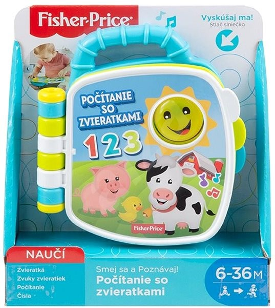 Fisher-Price Polly Pocket Counting with Animals SK - Educational toy