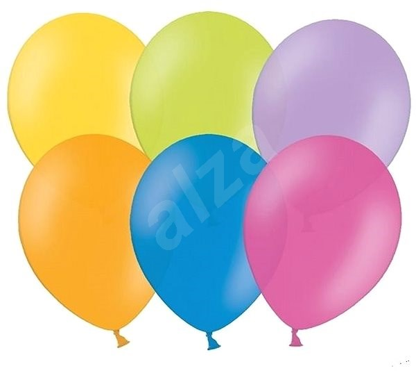 Balloons 50 pcs mixed colours - Balloons