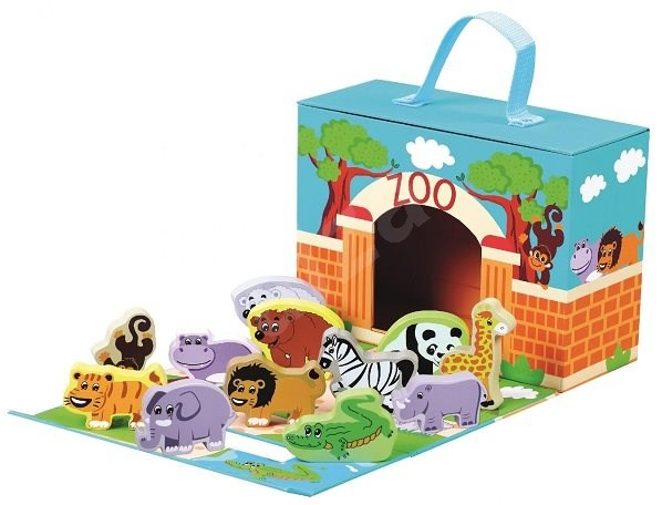Travel Case with Animals - ZOO - Educational Toy