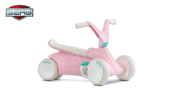 Berg Go-Kart with pink pedals - Balance Bike/Ride-on