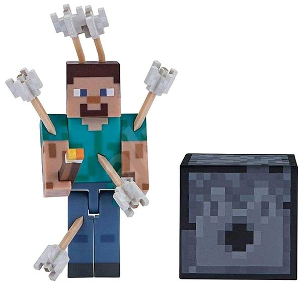 Minecraft Steve With Arrows Figure Alzashop Com