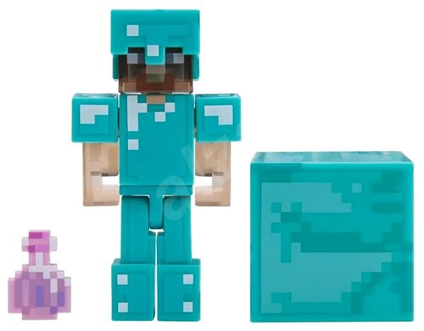 Minecraft Steve With Elixir Of Invisibility Figure Alzashop Com