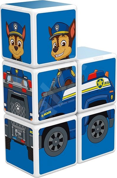 Magicube Paw Patrol Police - Magnetic Building Set