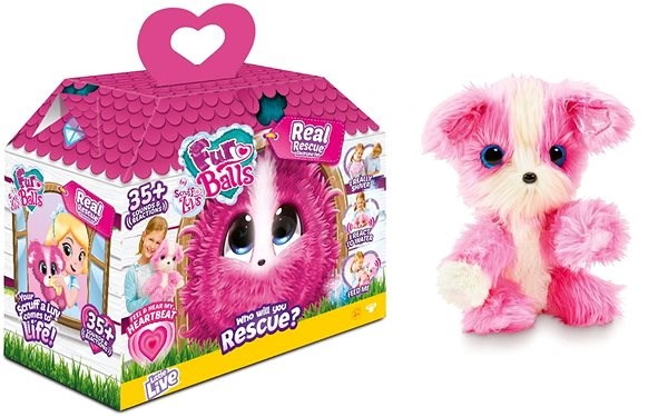 Rooster My Real Rescue - Pink - Interactive Toy