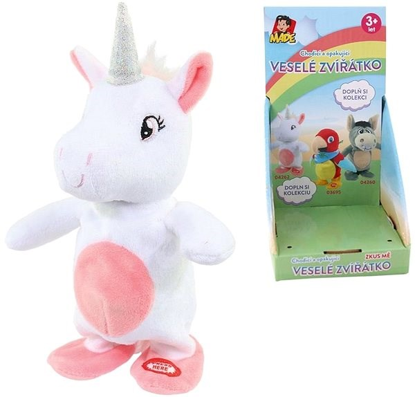 Repeating and Walking Unicorn - Interactive Toy