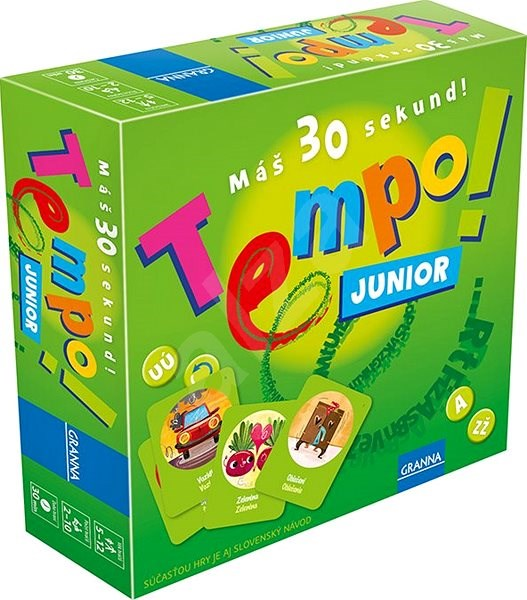Granna Tempo! Junior - Board Game