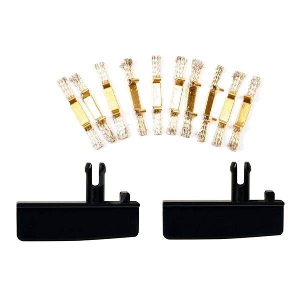 Carrera EVO/D132/D124 - 20366 Double Contact Brush Set with Guide Keels - Slot Cart Track Accessory
