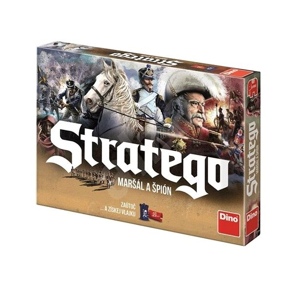 Stratego Marshal and Spy - Board Game