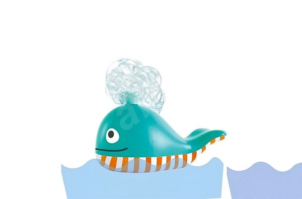 Hape Water Toys - Whale with Foam - Water Toy