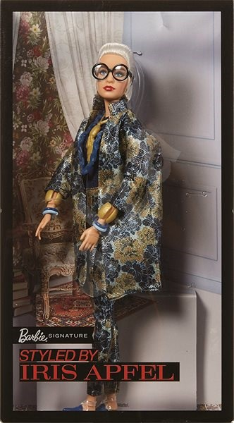 Barbie Style Icon, Glittering Outfit by Iris Apfel - Doll