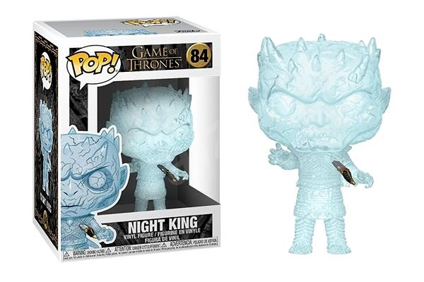 Funko POP TV: Game of Thrones - Crystal Night King w/Dagger in Chest - Figure