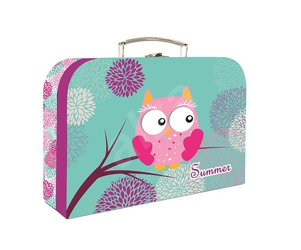 Cardboard P+P Lamino Owl - Small Carrying Case