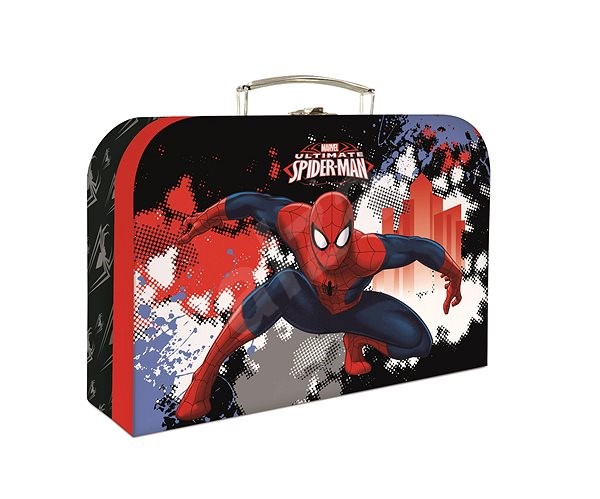 P+P Laminated Spiderman cardboard - Small Carrying Case