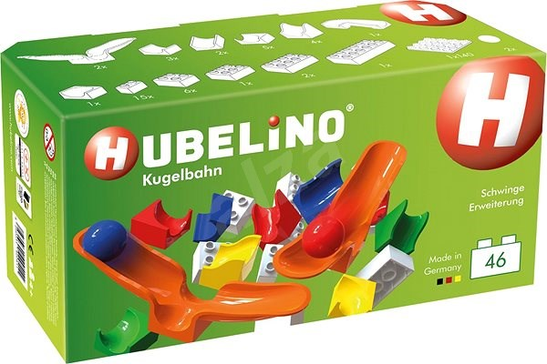 Hubelino Ballroom - Extension of 46 pieces with swing - Ball Track